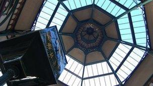 Kirkgate Market's domed roof