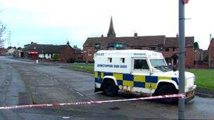 West Belfast bomb alert