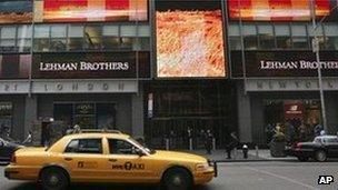 Lehman Brothers headquarters in New York City