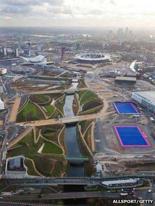 Olympic Park Aerial Image