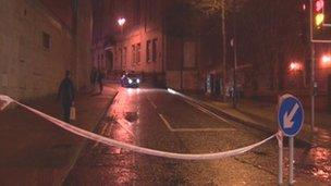 Two areas in Londonderry remain cordoned off