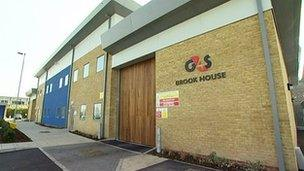 Brook House removal centre
