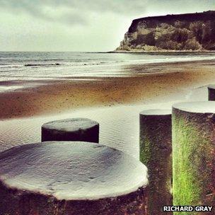 beach on Isle of Wight