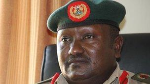 Col Felix Kulayigye. Photo by Jacques Sweeney.
