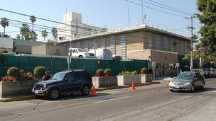 US Consulate in Guadalajara