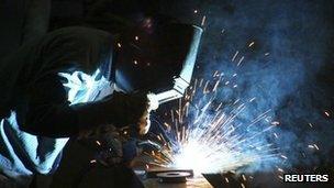 Steel works in Punjab, Jan 2012