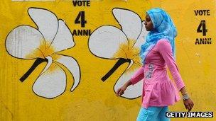 Election grafitti
