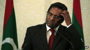 New Maldives President Mohammed Waheed Hassan. Photo: 8 February 2012