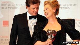 Colin Firth and Meryl Streep