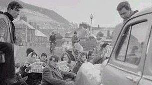 Protest Pont Trefechan