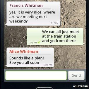 A Whatsapp