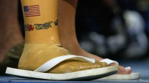 Swimmer at 2004 Paralympics