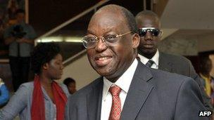 Presidential candidate Moustapha Niasse