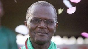 Presidential candidate Ousmane Tanor Dieng
