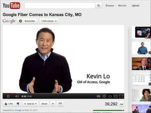 Google fiber video