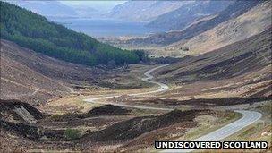 An rathad gu Ceann Loch Iù