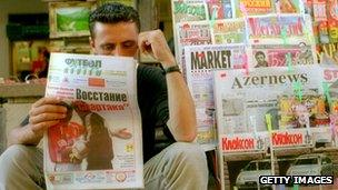 Azeri newspapers