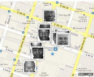 Homeless Hotspots map