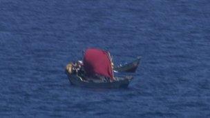 Stiff under sail