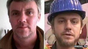 Gareth Montgomery-Johnson (left) and Nicholas Davies