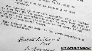 Secret WWII document