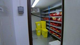 Forensic Science laboratory in Wetherby