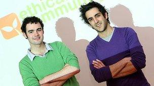 Liam Patterson and Jason Dainter (right)