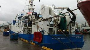 Marine Scotland survey ship Alba na Mara