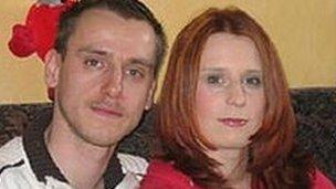 Patrick Stuebing and Susan Karolewski