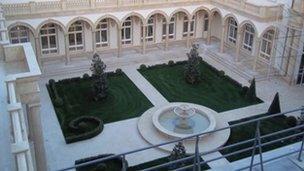 The Black Sea palace