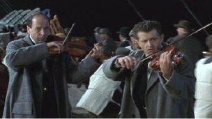 Musicians in 1997 Titanic film