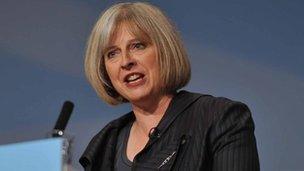 Theresa May, Yr Ysgrifennydd Cartref