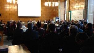 Devon Development Management Committee meeting