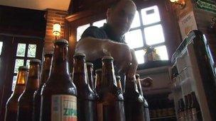 Berny Silberwasser, founder of the Bogota Beer Company