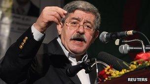 Algerian Prime Minister Ouyahia