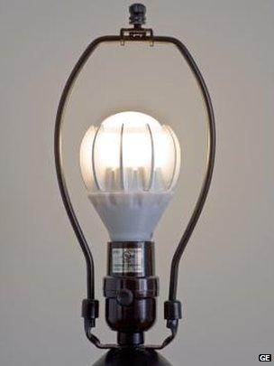 General Electric LED light bulb