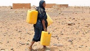 Drinking water, Mali
