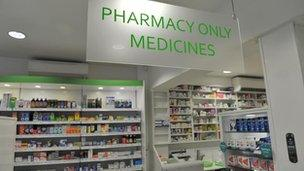 Community pharmacies face problems with supplies