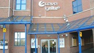 Former nightclub Lava and Ignite.