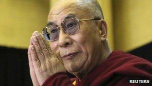 The Dalai Lama (file image)