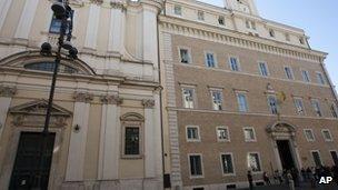 Saint Apollinare Basilica in Rome