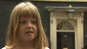 Sophie Clucas at 10 Downing Street