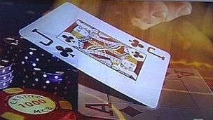 Casino graphic