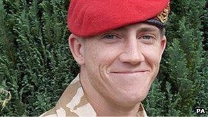 Lance Corporal Michael Pritchard
