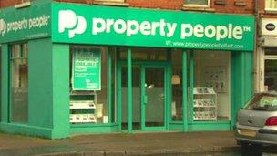 Property People have since apologised to the student