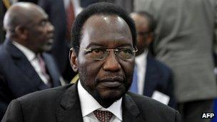 Interim President Dioncounda Traore. Photo: May 2012