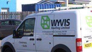 Bhàn Wyvis Roofing