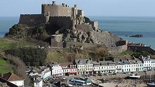 Mont Orgueil Castle on Jersey