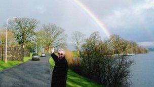 prof murray and rainbow