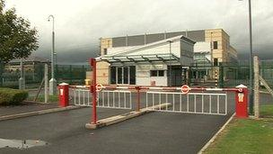 Castle Donington fire control centre